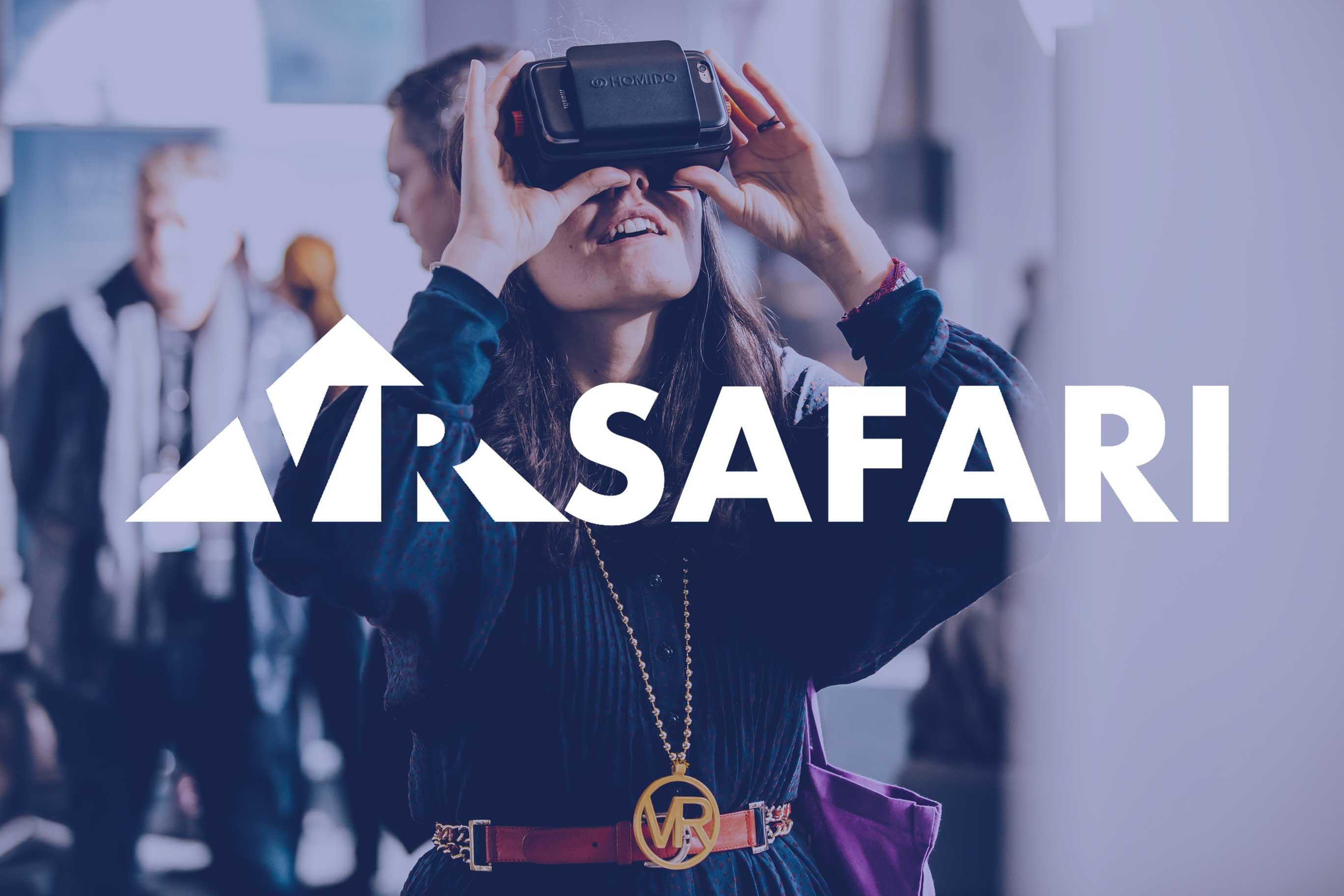 VR Safari Immersive Technology Workshops - headset demo