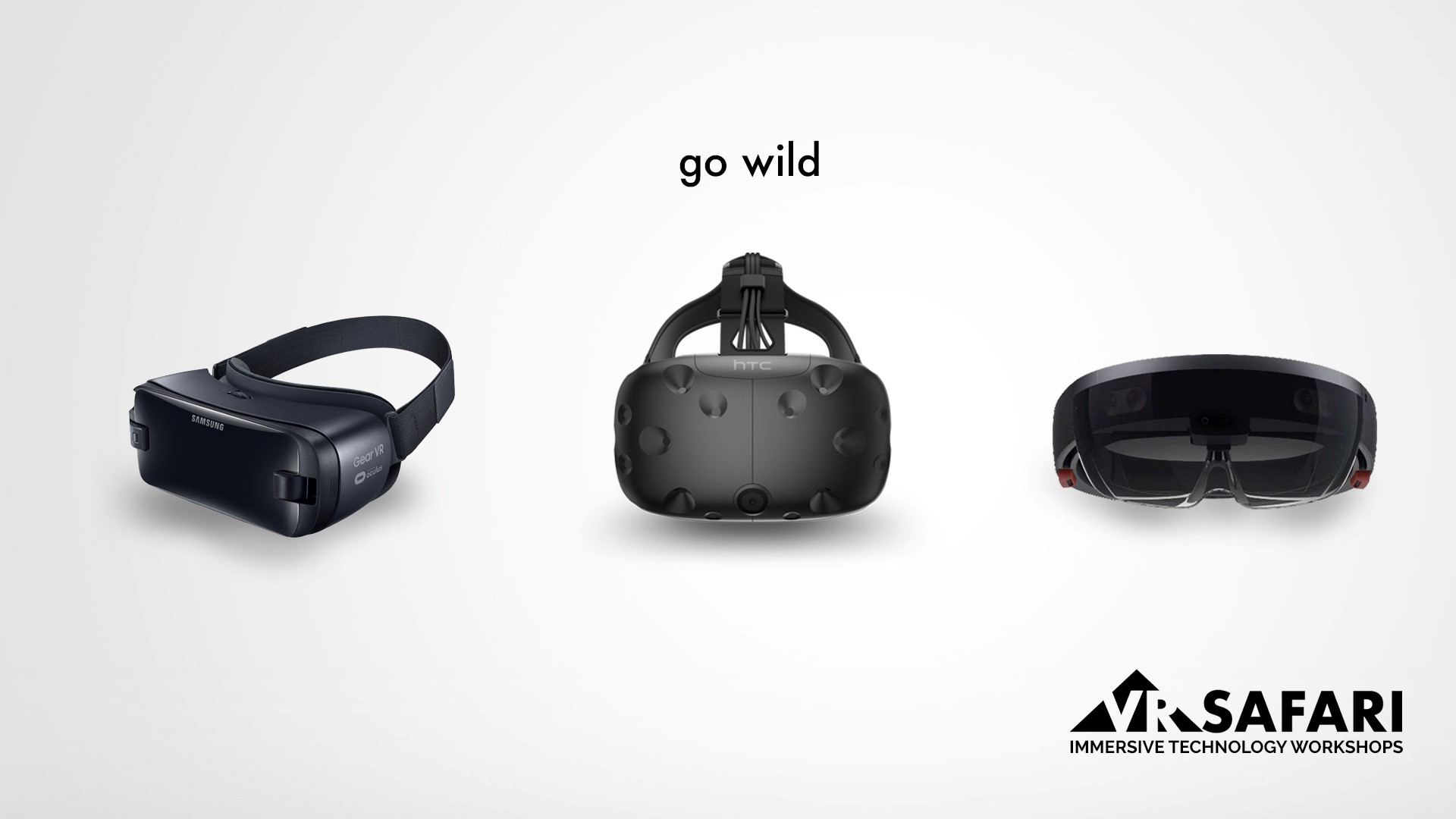 VR Safari Immersive Technology Workshops - Go Wild Header